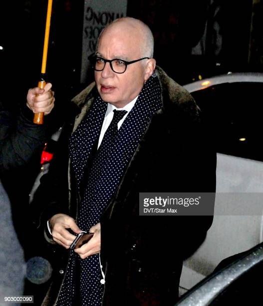 Author Michael Wolff is seen on January 8 2018 in New York City