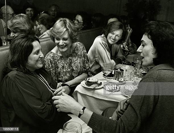 Author Mildred Newman actress Alexis Smith and Diane Judge attend the book party for Mildred Newman How To Take Charge Of Your Life on June 27 1978...
