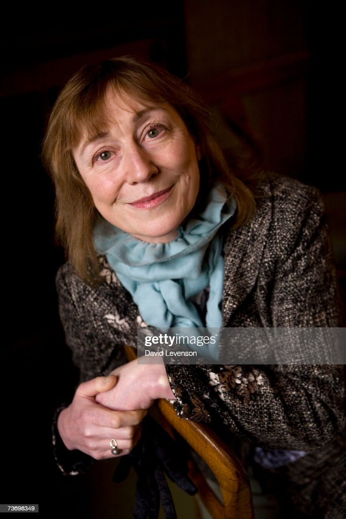 Author Miranda Seymour poses for a portrait at the annual 'Sunday Times Oxford Literary Festival' held at Christ Church on March 25, 2007 in Oxford, England.