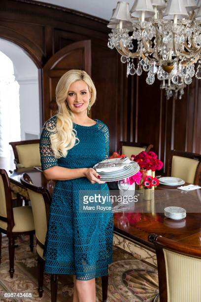 Author model showgirl and television personality Holly Madison is photographed for Us Weekly on December 1 2016 in Los Angeles California