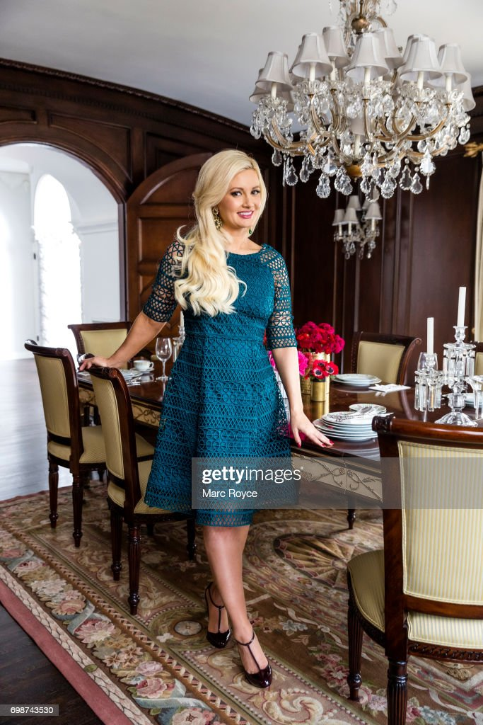 Author, model, showgirl, and television personality Holly Madison is photographed for Us Weekly on December 1, 2016 in Los Angeles, California.