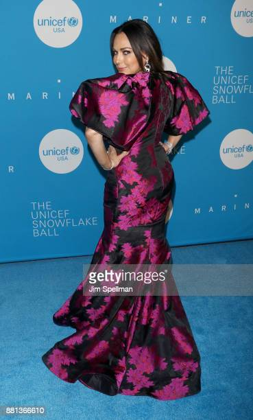 Author Moll Anderson attends the 13th Annual UNICEF Snowflake Ball 2017 at The Atrium at 60 Wall Street on November 28 2017 in New York City