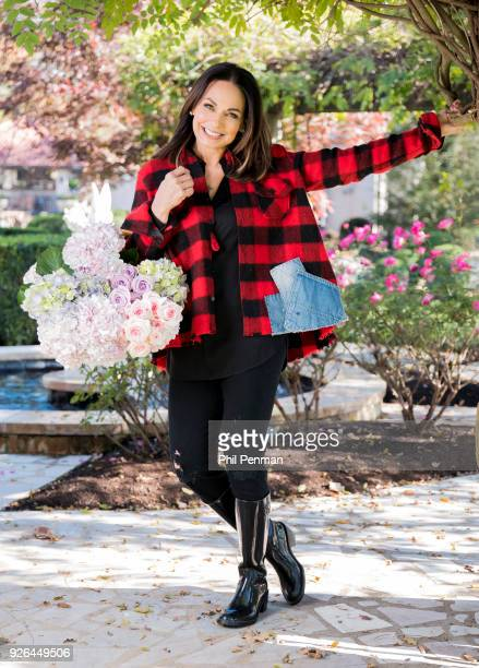 Author Moll Anderson is photographed for Closer Weekly Magazine on November 16 2017 at home in Knoxville Tennessee