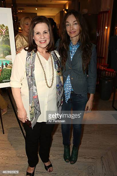 Author Nancie Clare and Kelly Wearstler attend Assouline's In the Spirit of Beverly Hills Book Launch Cocktail Party Hosted by Kelly Wearstler and...