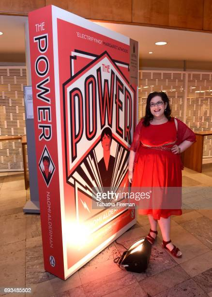 Author Naomi Alderman shortlisted for the 2017 Baileys Women's Prize for Fiction for 'The Power' ahead of tonights winner annoucement at the Royal...