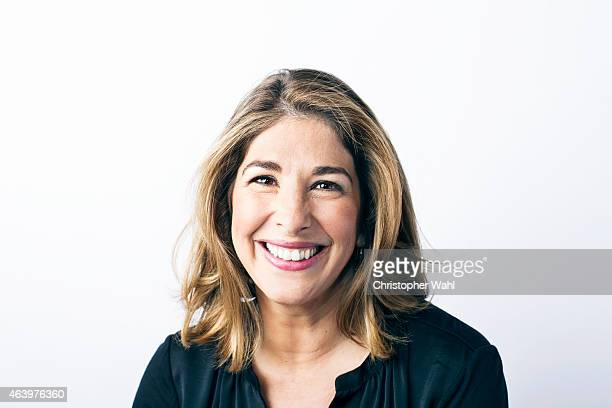 Author Naomi Klein is photographed for Rolling Stone Magazine on October 9 2014 in Toronto Ontario