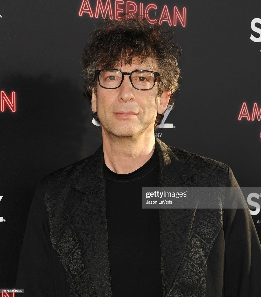 Author Neil Gaiman attends the premiere of 'American Gods' at ArcLight Cinemas Cinerama Dome on April 20, 2017 in Hollywood, California.