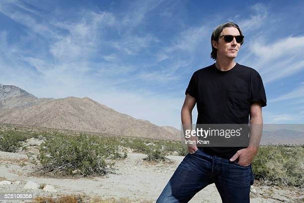 Author Neville Wakefield is photographed for Los Angeles Times on April 19, 2016 in Palm Springs, California. PUBLISHED IMAGE. CREDIT MUST READ:...