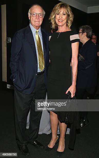 Author Nicholas Pileggi and actress Christine Lahti attend the Everything Is Copy premiere during the 53rd New York Film Festival at Walter Reade...