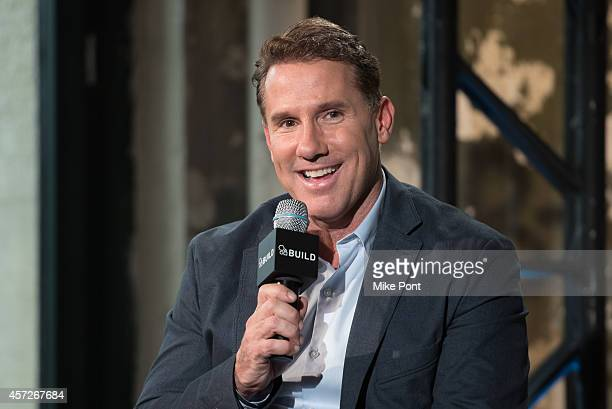 Author Nicholas Sparks attends 'AOL's BUILD Series Presents Nicholas Sparks' at AOL Studios In New York on October 15 2014 in New York City