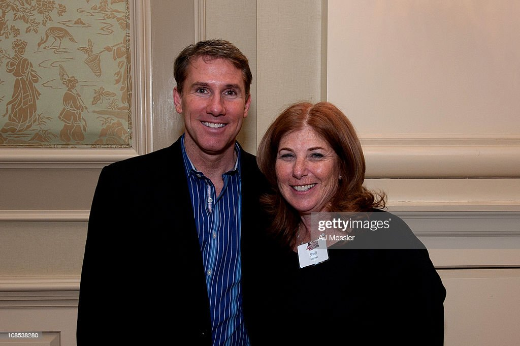 Author Nicholas Sparks smiles for a photo with Shelli ...