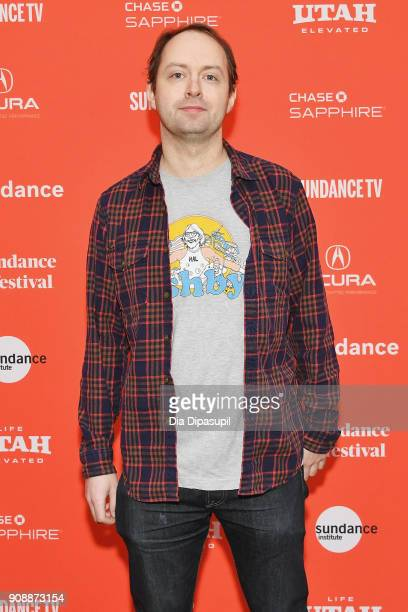 Author Nick Dawson attends the 'Hal' Premiere during the 2018 Sundance Film Festival at The Marc Theatre on January 22 2018 in Park City Utah