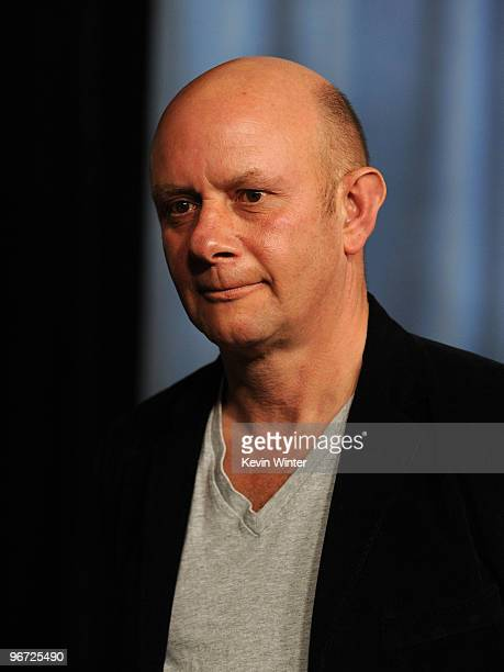 Author Nick Hornby poses at the 82nd annual Academy Awards Nominee Luncheon at Beverly Hilton Hotel on February 15 2010 in Los Angeles California