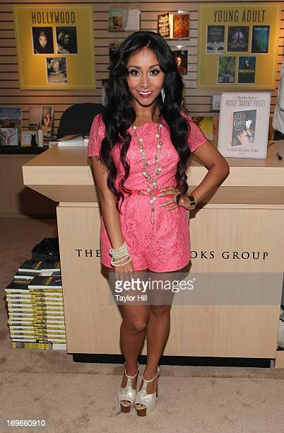 Author Nicole 'Snooki' Polizzi attends the 2013 Book Expo America on day one at Jacob Javits Center on May 30 2013 in New York City