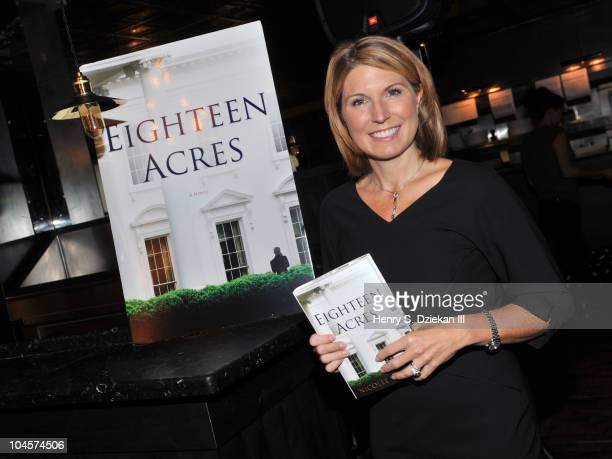 Author Nicolle Wallace attends the 'Eighteen Acres' book launch breakfast at the Soho House on September 30 2010 in New York City