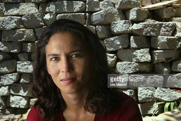 Author Nina Revoyr is photographed for Los Angeles Times on July 2 2004 in Los Angeles California PUBLISHED IMAGE CREDIT MUST READ Mel Melcon/Los...