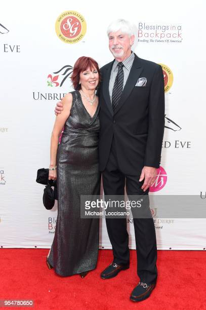 Author Nora Roberts and Bruce Wilder attend the Unbridled Eve Gala during the 144th Kentucky Derby at Galt House Hotel Suites on May 4 2018 in...