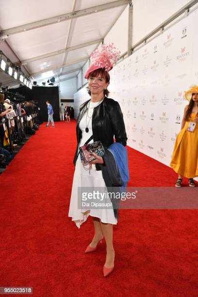 Author Nora Roberts attends Kentucky Derby 144 on May 5 2018 in Louisville Kentucky