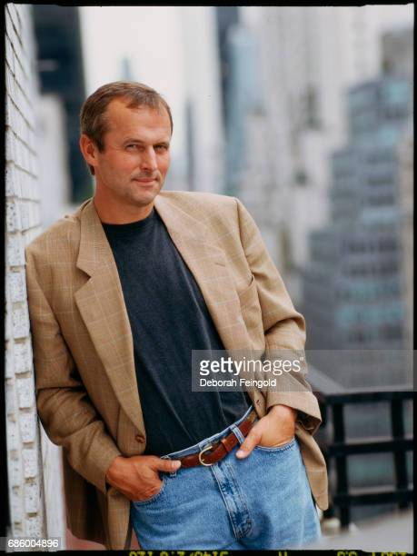 Author novelist lawyer and activist John Grisham poses for a portrait in 2007 in New York City New York