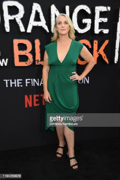 """Author of the book that inspired the series, Piper Kerman, attends the """"Orange Is The New Black"""" Final Season World Premiere at Alice Tully Hall,..."""