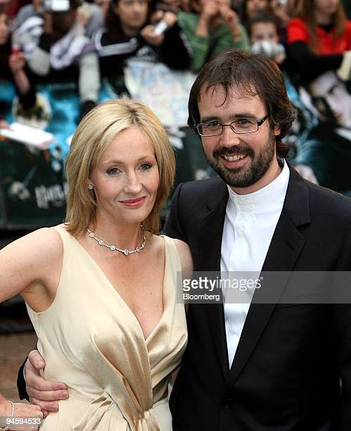Author of the Harry Potter series JK Rowling and her husband Dr Neil Murray arrive at the UK premier of Harry Potter and the Order of the Phoenix at...