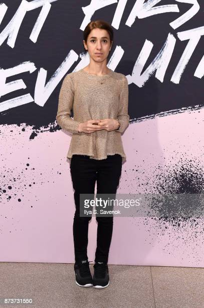 Author of 'The Last Girl My Story of Captivity and My Fight Against the Islamic State' Nadia Murad poses during Glamour Celebrates 2017 Women Of The...