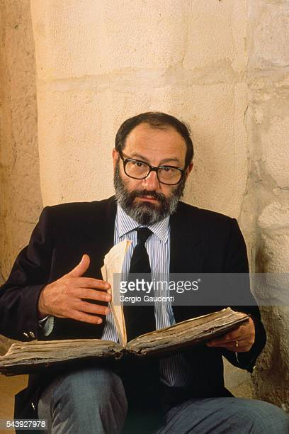 Author of The Name of the Rose Umberto Eco