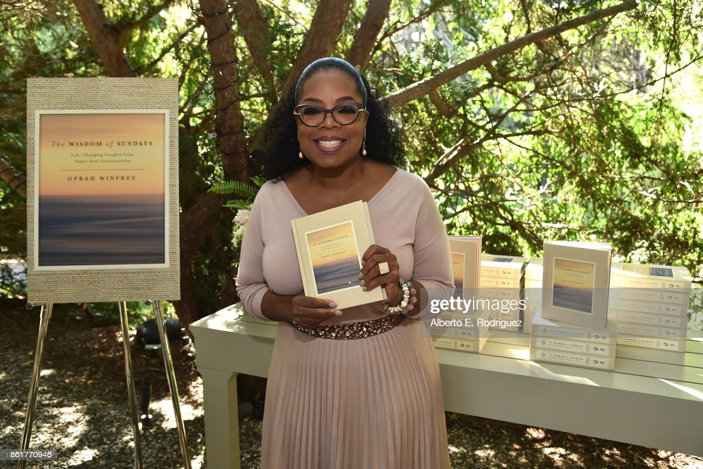 Author Oprah Winfrey attends Oprah Winfrey's Gospel Brunch celebrating her new book 'Wisdom of Sundays' on October 15, 2017 in Montecito, California.
