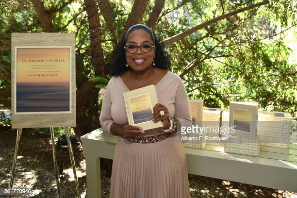 Author Oprah Winfrey attends Oprah Winfrey's Gospel Brunch celebrating her new book 'Wisdom of Sundays' on October 15 2017 in Montecito California