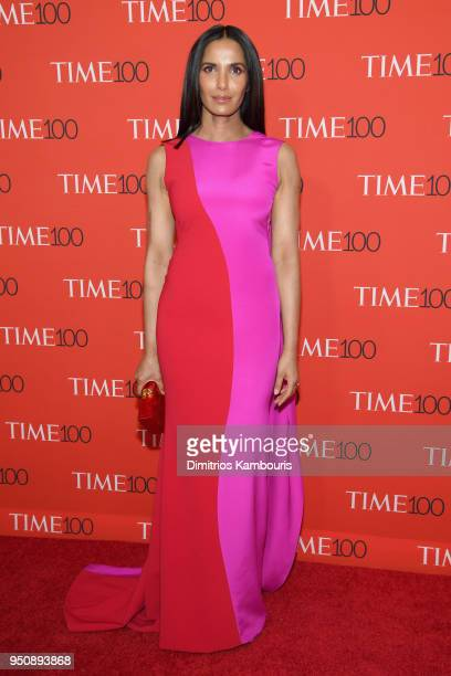 Author Padma Lakshmi attends the 2018 Time 100 Gala at Jazz at Lincoln Center on April 24 2018 in New York City