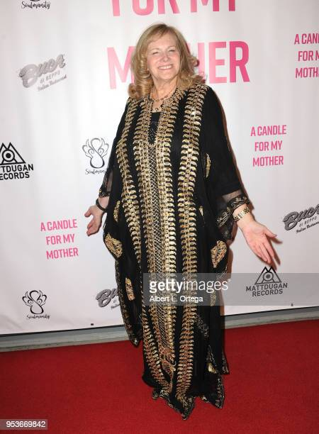 Author Pamela L Newton arrives for a luncheon in honor of Mother's Day for the release of Pamela L Newton's 'A Candle For My Mother' held at Los...