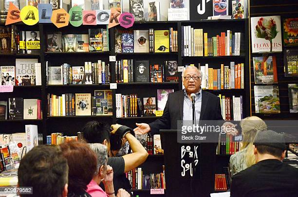 Author Pat DiCesare speaks at his book signing for his book Hard Days Hard Nights at Book Soup on February 9 2016 in West Hollywood California