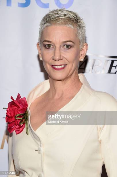 Author Patricia Ward Kelly attends the Advanced Imaging Society 2018 Lumiere Awards presented by Dell and Cisco at Steven J Ross Theatre on February...