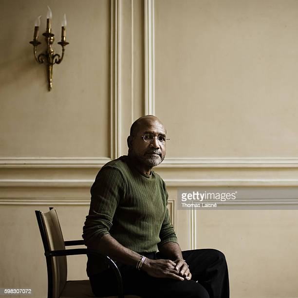 Author Patrick Chamoiseau is photographed for Self Assignment on May 11, 2009 in Paris, France.