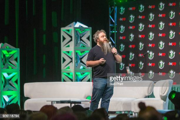 Image result for patrick rothfuss on stage