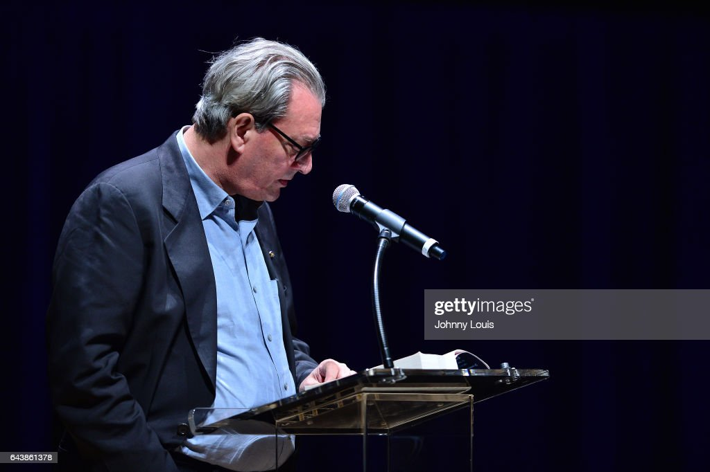 Author Paul Auster read from his latest novel, '4 3 2 1' during A Evening with Paul Auster & friends! MUSIC, MAGIC &
