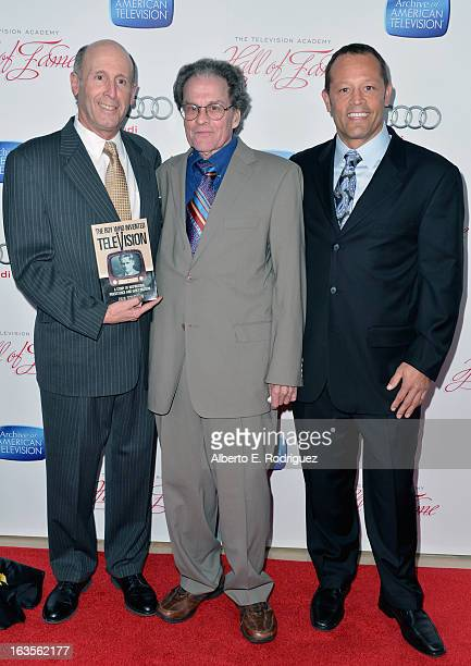 Author Paul Schatzkin Skee Farnsworth and Philo Farnsworth attend the Academy of Television Arts Sciences' 22nd Annual Hall of Fame Induction Gala at...