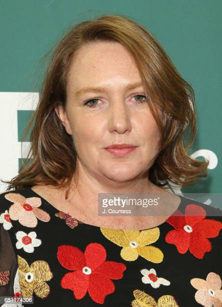 Author Paula Hawkins attends a signing for her new book Into the Water at Barnes Noble Union Square on May 9 2017 in New York City