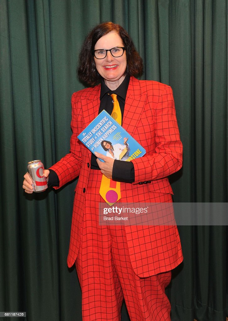 """Paula Poundstone Signs Copies Of Her New Book """"The Totally Unscientific Study Of The Search For Human Happiness"""""""