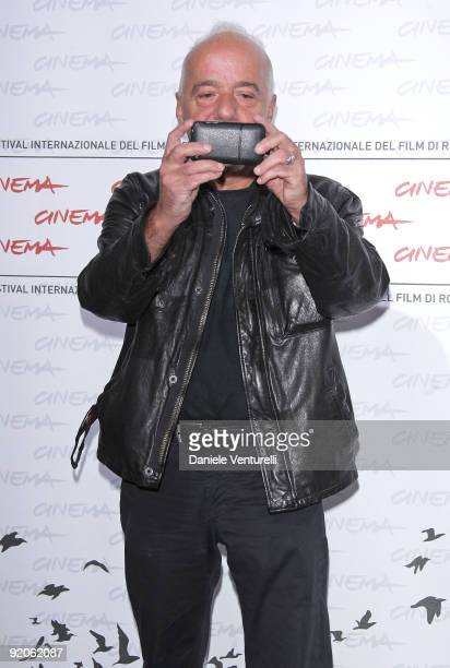Author Paulo Coehlo attends the Paulo Coehlo's 'The Experimential Witch' Photocall attends the Paulo Coehlo Photocall during day 6 of the 4th Rome...