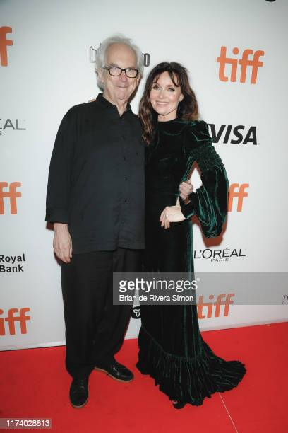 Author Peter Carey and Essie Davis attend True History Of Kelly Gang Premiere during the 2019 Toronto International Film Festival at Roy Thomson Hall...