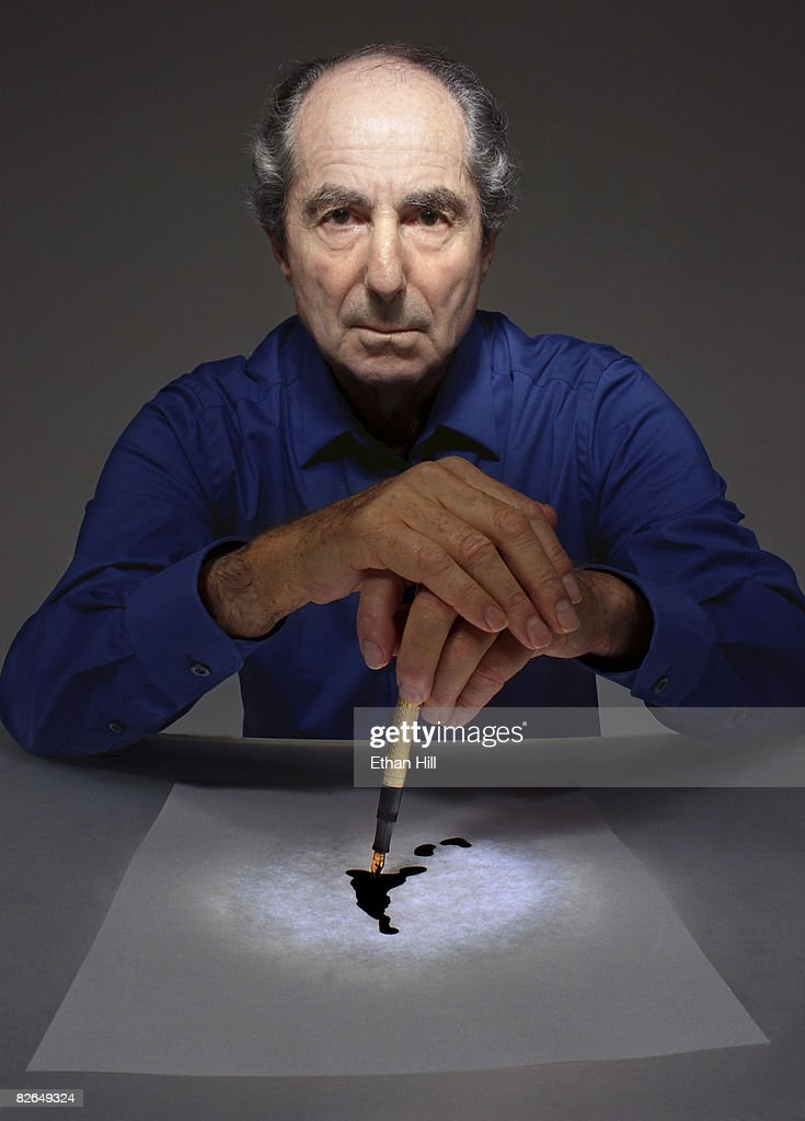Philip Roth by Ethan Hill for Newsweek - 10/1/2007