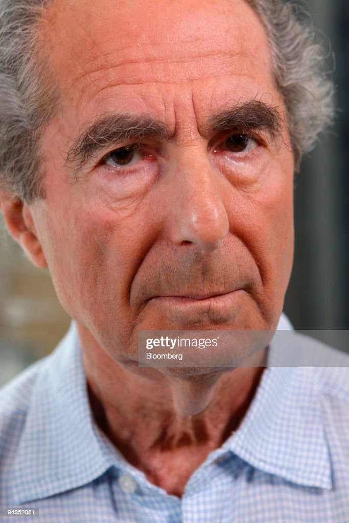 Author Philip Roth poses for a portrait in New York, U.S., on Wednesday, Sept. 3, 2008. You can't win a Nobel Prize in literature because of your nationality. But if you're American, you may be able to lose one.