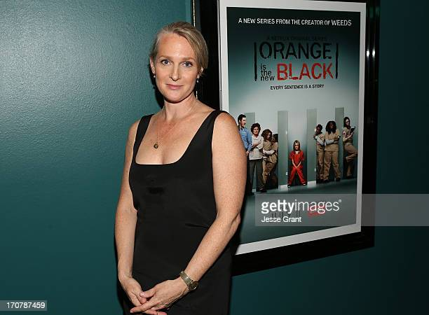 Author Piper Kerman attends the Netflix Presents Orange Is The New Black Special Screening at AMC Loews Broadway 4 on June 17 2013 in Santa Monica...