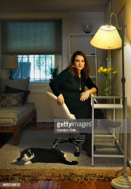 Author Piper Weiss is photographed for Los Angeles Times on May 14 2018 in Brooklyn New York PUBLISHED IMAGE CREDIT MUST READ Carolyn Cole/Los...