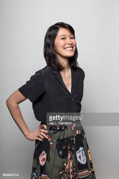 Author Rachel Khong is photographed for Los Angeles Times on April 21 2018 in the LA Times Studio at the Los Angeles Times Festival of Books at the...