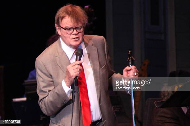 Author/ radio personality Garrison Keillor attends the a Prairie Home Companion helt at The Greek Theatre on June 6 2014 in Los Angeles California