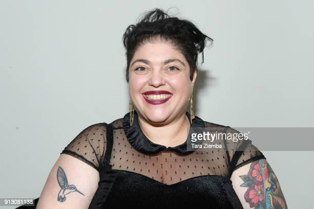 Author Randa Jarrar attends The Secret Society Of The Sisterhood at The Masonic Lodge at Hollywood Forever on January 31 2018 in Los Angeles...