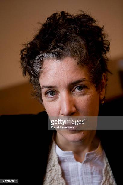 Author Rebecca Gowers poses for a portrait at the annual Sunday Times Oxford Literary Festival held at Christ Church on March 24 2007 in Oxford...