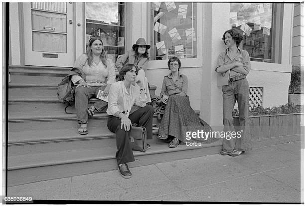 Author Rita Mae Brown with Friends